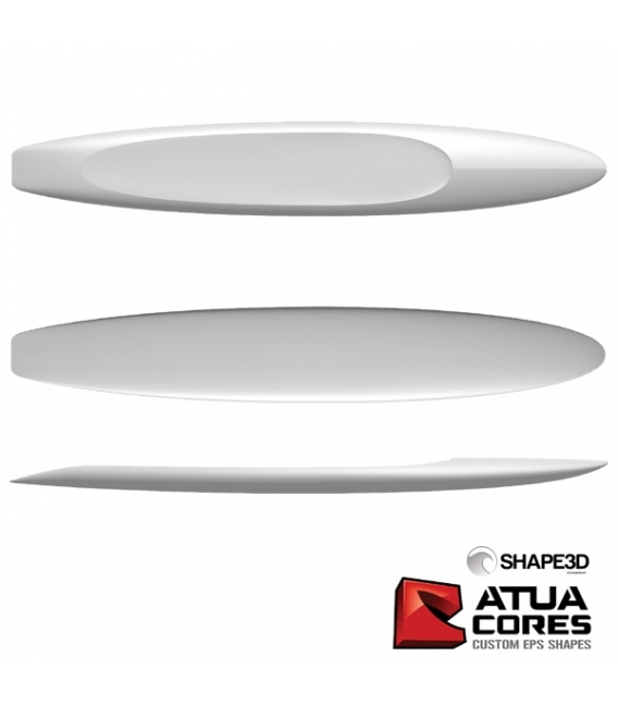 PAIN PRÉ-SHAPÉ SURF RESCUE 10'2