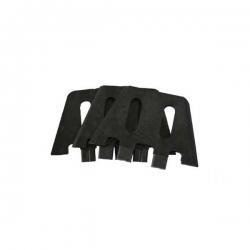 3 gabarits plastique pour pose plugs FCS X2