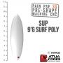 PAIN PRÉ-SHAPÉ SUP 9'6 SURF POLYVALENT