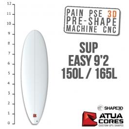 Pain pré-shapé SUP EASY 9'2 150L