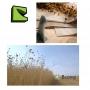 TISSU  naturelle de lin blanchi UD 120g/m² largeur 1270mm