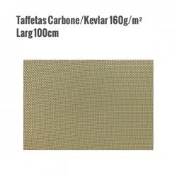 Taffetas Carbone / Kevlar 160g/m² larg 100cm