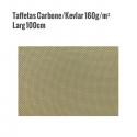 Taffetas Carbone Kevlar 160gr larg 100cm