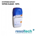 Kit 35kg Résines époxy 1070S clear - 1074 RESOLTECH