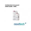 pain atua résines époxy de glaçage 4000 CLEAR - 4005 RESOLTECH