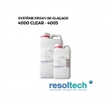 Kit 6.9kg résines époxy de glaçage 4000 CLEAR - 4005 RESOLTECH