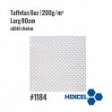 Tissu de verre Hexcel 1184  Taffetas 200g/m² Larg 80cm