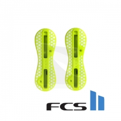 Plugs FCS II acid yellow en set de twin