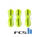 Set THRUSTER plugs FCS II acid yellow jaune