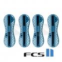 Boitiers plugs FCS II reef blue / bleu