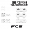 FCS FUSION - Plugs en set TWIN - THRUSTER - QUAD