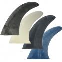 "aileron ou dérive surf longboard fixe 9"" glass on fins"