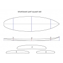 SHORTBOARD PERFORMANCE SQUASH TAIL 5'9 / 6'0 / 6'2