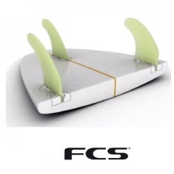 Sets plugs FCS FUSION TWIN THRUSTER QUAD