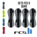 FCS II - Plugs en set QUAD