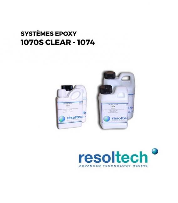 Kit 4.2kg Résines époxy 1070S - 1074 RESOLTECH