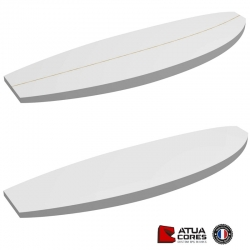 PAIN SURF 6'9 BIG BOY POLYSTYRENE ATUA LATTE