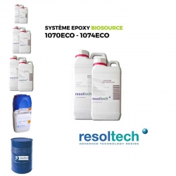 Résines époxy 1070ECO - 1074ECO RESOLTECH