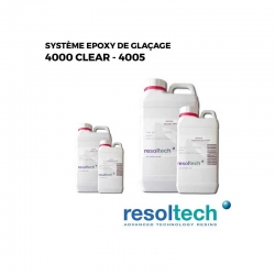 pain atua résines époxy de glaçage 4000 CLEAR - 4005 RESOLTECH