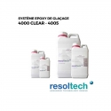 Kits résines époxy de glaçage 4000 CLEAR - 4005 RESOLTECH