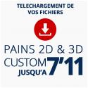PAINS CUSTOM 2D ou 3D JUSQU'A 7'11