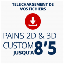 PAINS CUSTOM 2D ou 3D JUSQU'A 8'5