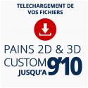 PAINS CUSTOM 2D ou 3D JUSQU'A 9'10