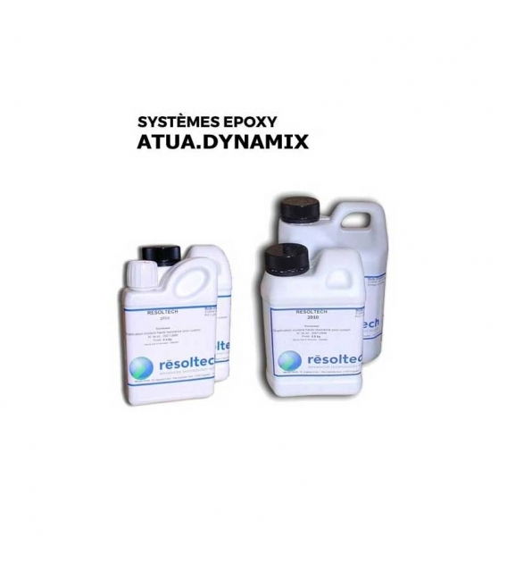 KIT 4.35KG RÉSINES ÉPOXY ATUA.DYNAMIX