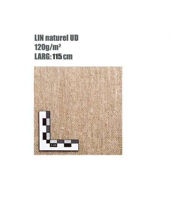 TISSU DE LIN BCOMP AMPLITEX SURF UD 120G/M² LARGEUR 127CM