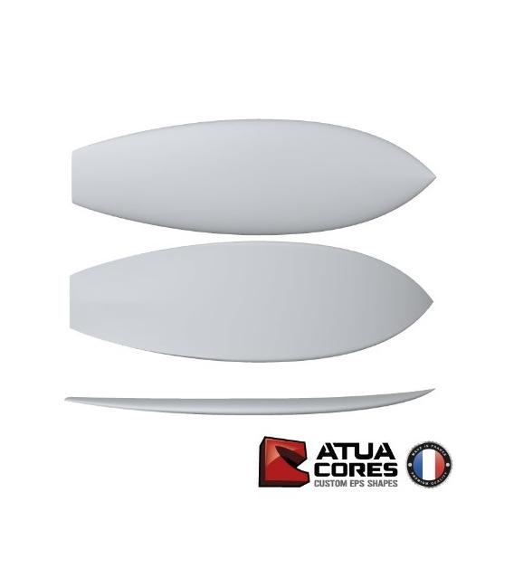 Shortboard poids lourds pain PSE 2D ou 3D Atua