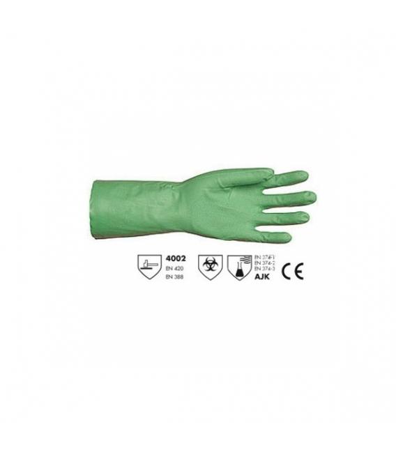 1 paire de Gants NITRILE vert