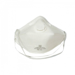 Masque anti-poussières pliable avec soupape