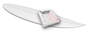 Templates de pains shape complet sur catalogue