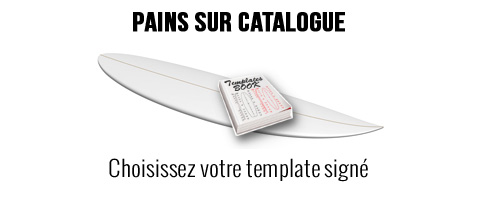 Pains mousse PSE sur catalogue Surf Longboard SUP Windsurf Kite