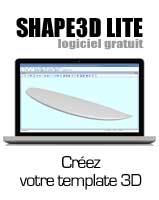 Shape3d Lite: Logiciel création de template 3D