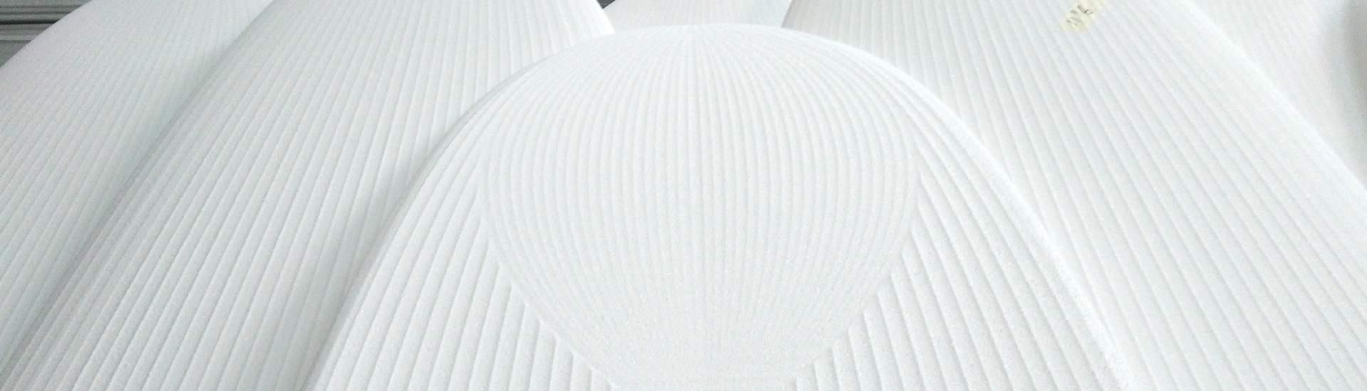 Découpe et pré shape de pain mousse polystyrène pour SUP  jusqu'à 14'6 - fabrication sur mesure ou sur catalogue