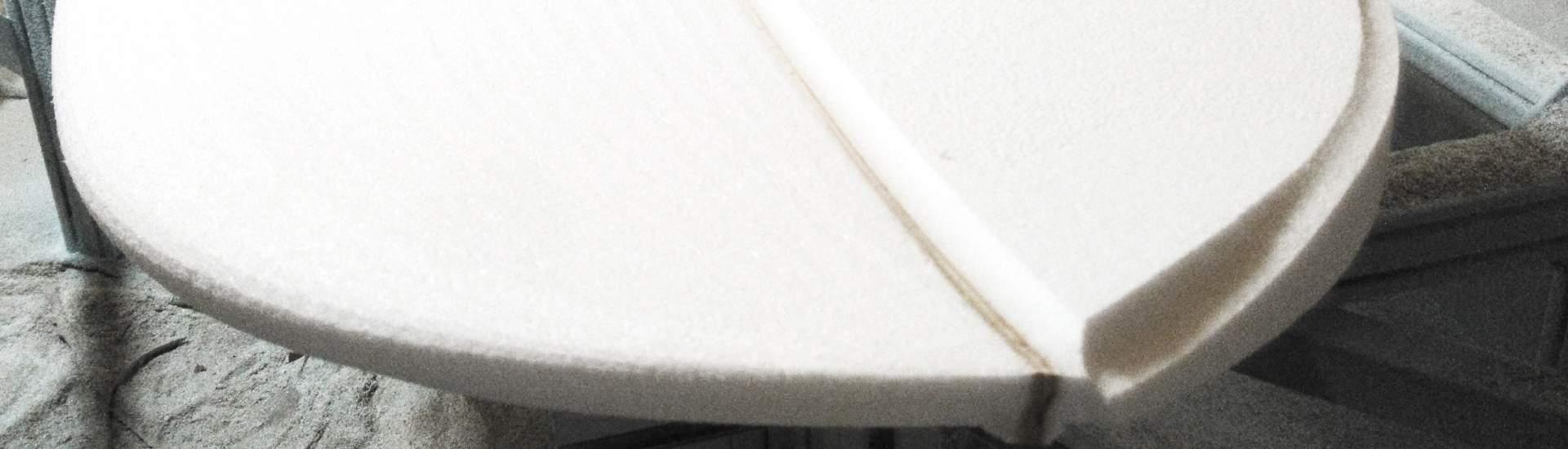 Fabrication française de pain mousse PSE pour les sports de glisse Surf Longboard SUP Windsurf Kite jusqu'à 14'6
